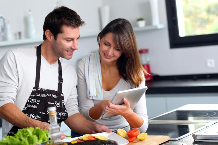 преимущества кухни без ручек