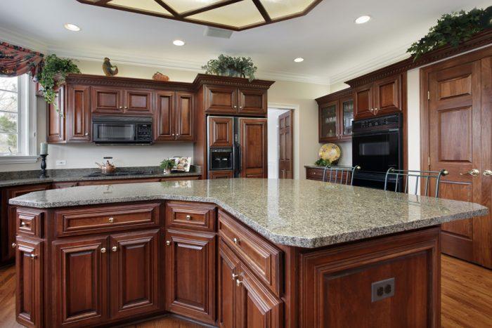 современная мебель для кухни из массива