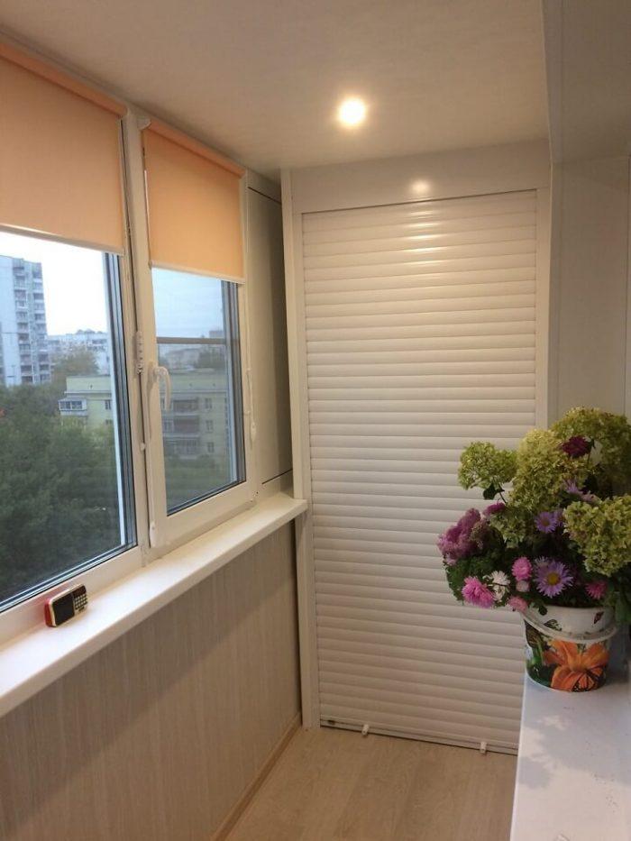 двери для шкафа на балкон