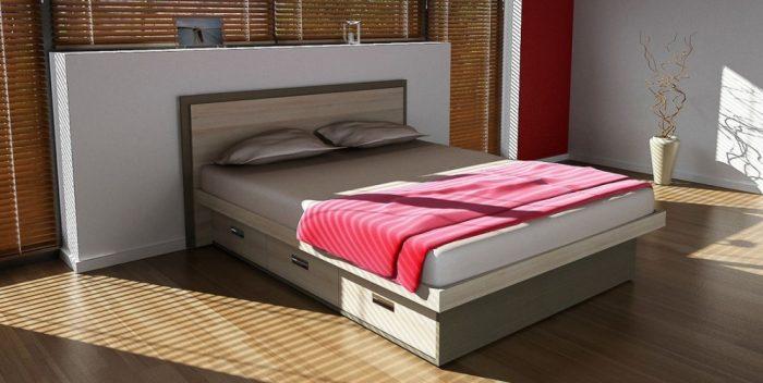 кровать ящики выдвижные