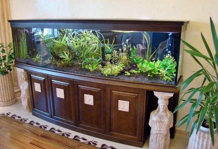 аквариум тумба