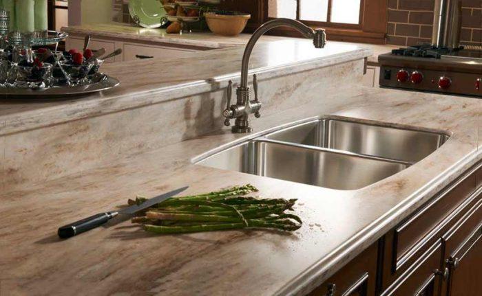 искусственый камень столешница для кухни
