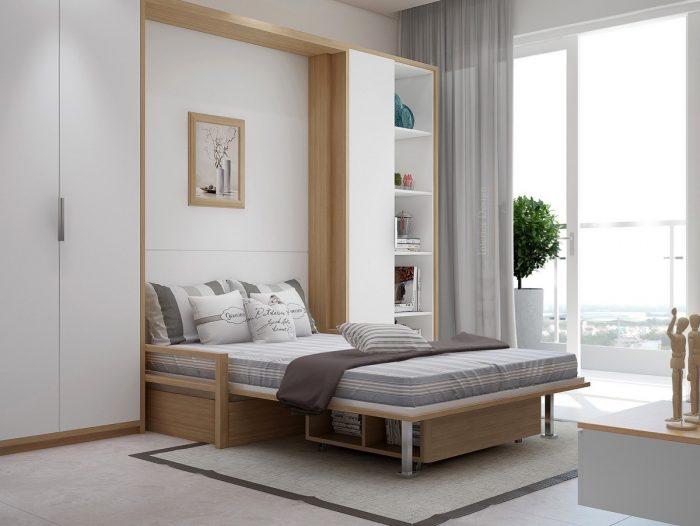 кровать трансформер шкаф
