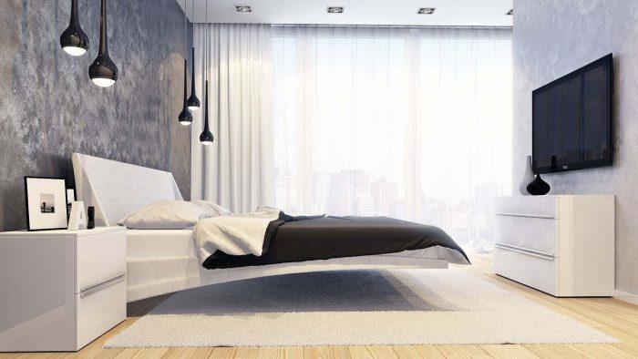 расставить мебель в спальне
