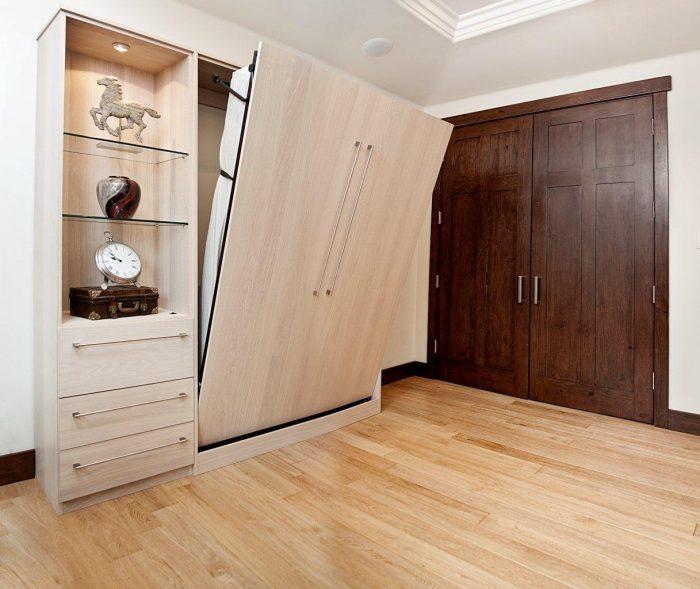 трансформеры шкаф кровать