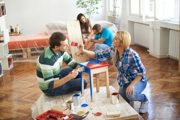 чем и как покрасить мебель