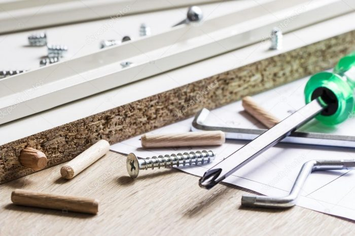 инструменты сборка мебели