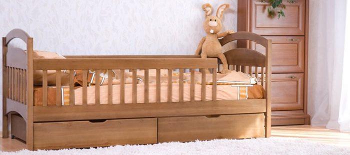 детские кровати бортики