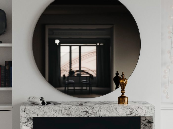 как реставрировать зеркало
