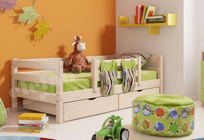 кровать бортики