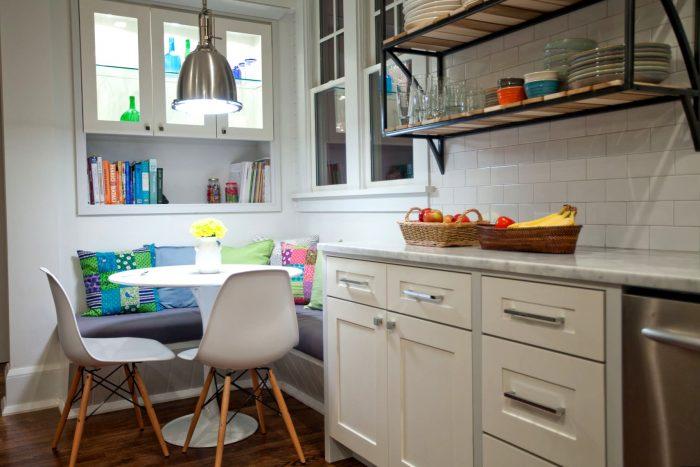 уголок на маленькой кухне
