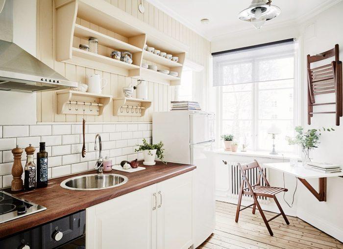 кухня стиль скандинавский как сделать