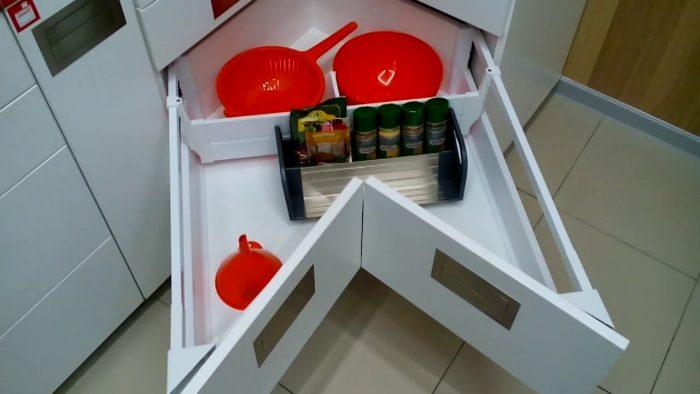 ящики на кухню выдвижные