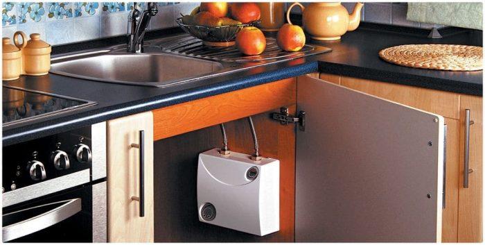 кухня водонагреватель