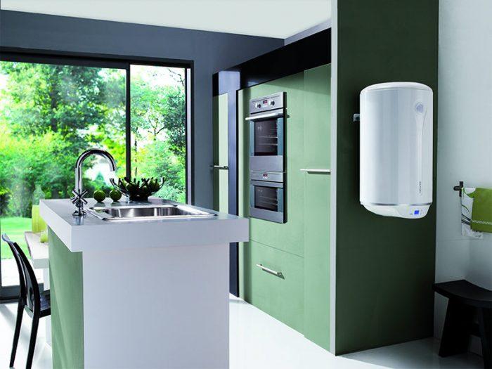 накопительный водонагреватель на кухню