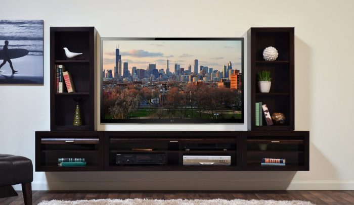 современная тумба для телевизора