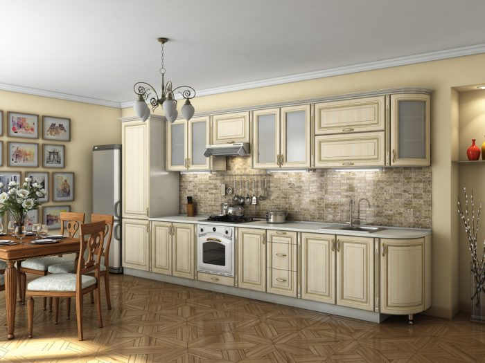 классический стиль кухня