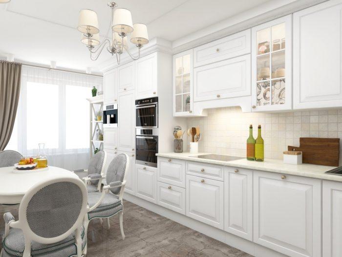 стиль классика кухня