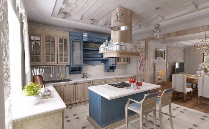 остров кухня дизайн