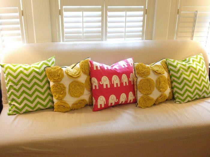 подушка на диван