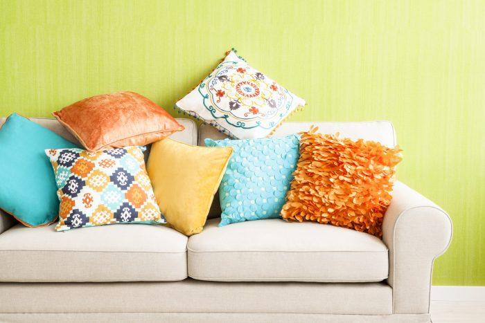 подушки диван