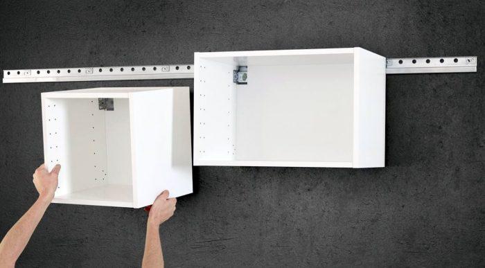 установка шкаф кухня