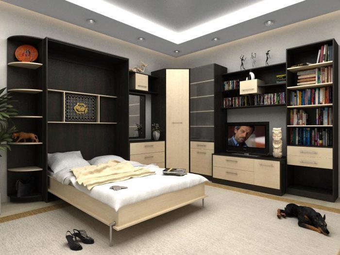 кровать откидная как сделать
