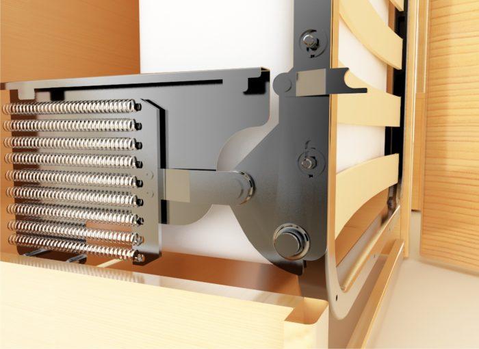 подъемный механизм кровать