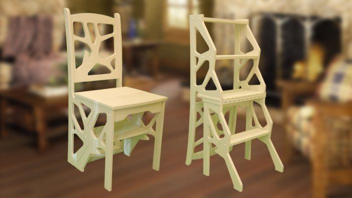 стул и стремянка