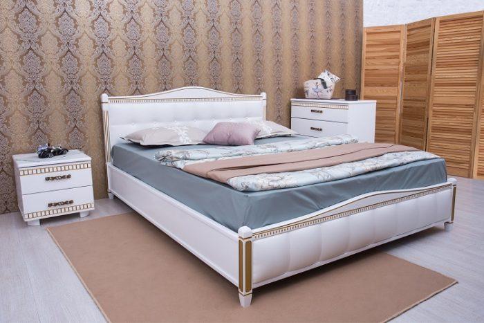 кровать мягкая спинка