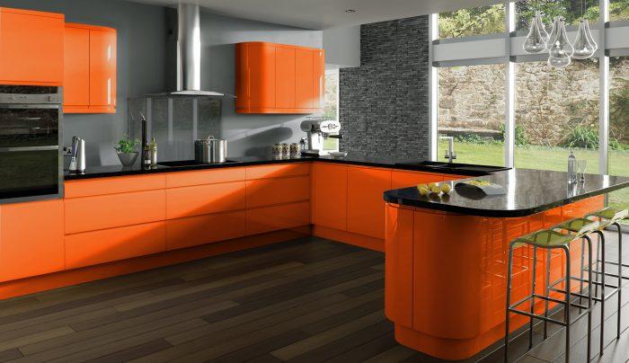 кухня выбрать цвет