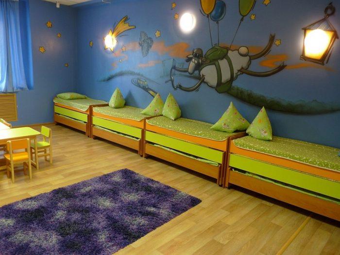 кровать детские садик