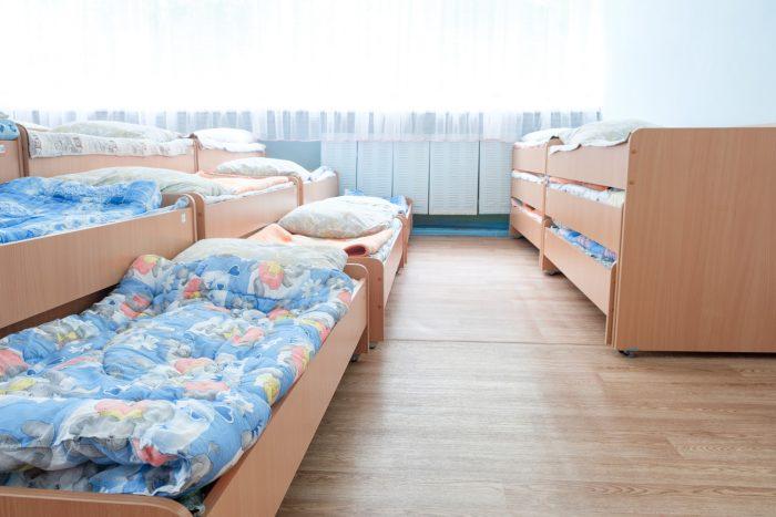 кровать детский сад