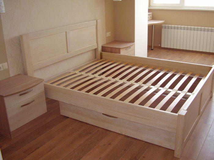 кровать ламели как сделать