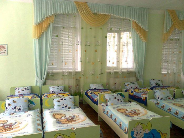 кровати детский сад
