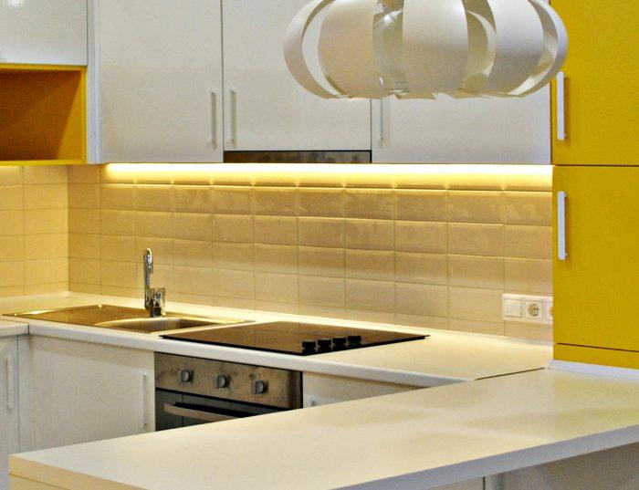 кухня подсветка сделать