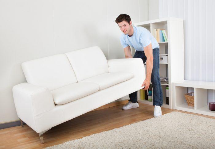мебель передвинуть