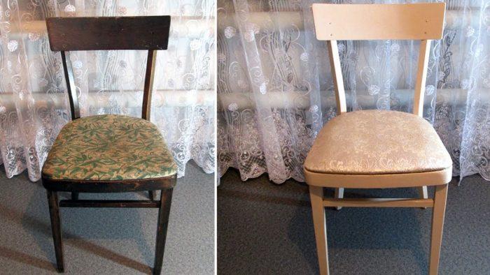 стулья ремонт