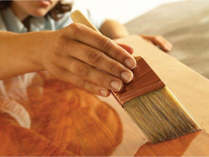 лак реставрация мебели