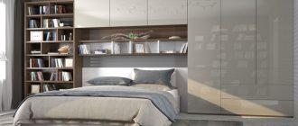 полки-над-кроватью-в-спальне