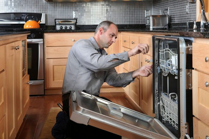 установка посудомойка