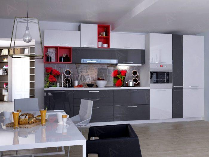 фасады акриловые кухня