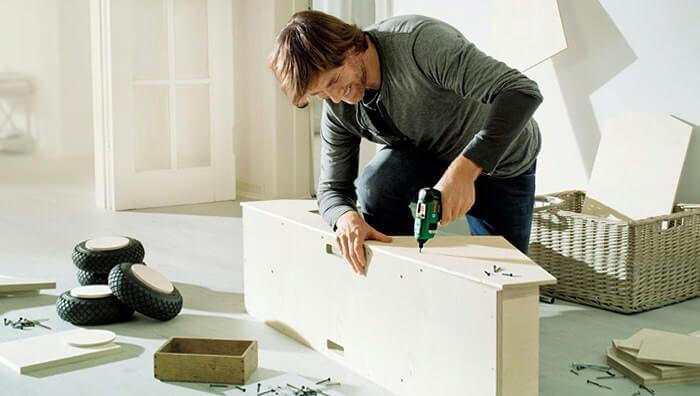 как собирать мебель
