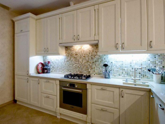 кухня пилястры