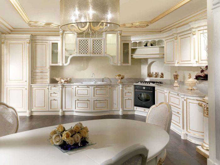кухня пилястры интерьер