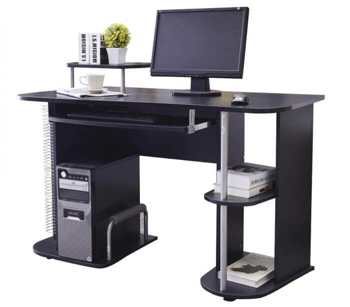полка компьютер клавиатура