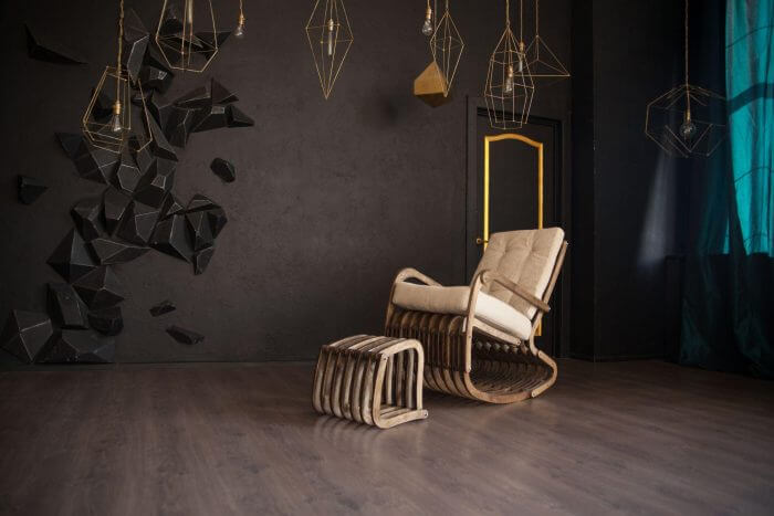 качалка кресло фанера
