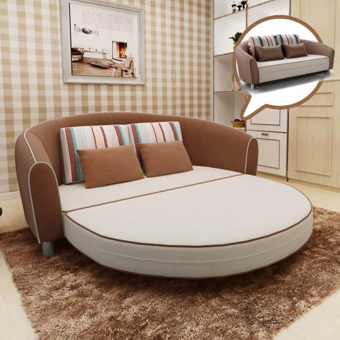 кровати круглые