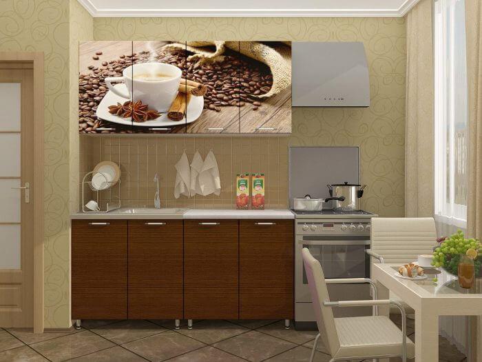 печать фото кухня