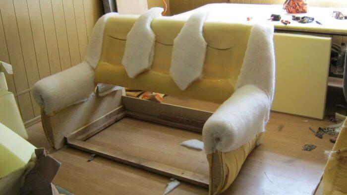 поролон мебельный